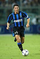 Ancona 12/08/2003<br />Trofeo Tim - Tim Cup <br />Javier Zanetti (Inter)