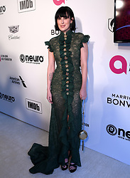 Rumer Willis attending the Elton John AIDS Foundation Viewing Party held at West Hollywood Park, Los Angeles, California, USA.