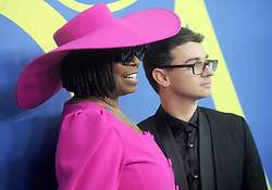 Whoopi Goldberg and designer Christian Siriano at the 2018 CFDA Awards at the Brooklyn Museum in New York City, NY, USA on June 4, 2018. Photo by Dennis Van Tine/ABACAPRESS.COM