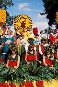 Aloha week parade, Waikiki, Honolulu, Oahu, Hawaii