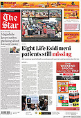 April 01, 2021 (AFRICA): Front-page: Today's Newspapers In Africa