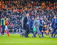 Slavisa Jokanovic x of Fulham during the Sky Bet Championship match at Craven Cottage, London<br /> Picture by Richard Brooks/Focus Images Ltd 07947656233<br /> 02/01/2017