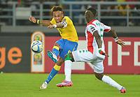 Fotball<br /> Afrika Cup / Afrikamesterskapet<br /> 17.01.2015<br /> Burkina Faso v Gabon<br /> Foto: Panoramic/Digitalsport<br /> NORWAY ONLY<br /> <br /> Pierre Emerick Aubameyang ( Gabon )