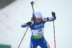 Andreja Mali (SLO) at Women 15 km Individual at E.ON Ruhrgas IBU World Cup Biathlon in Hochfilzen (replacement Pokljuka), on December 18, 2008, in Hochfilzen, Austria. (Photo by Vid Ponikvar / Sportida)