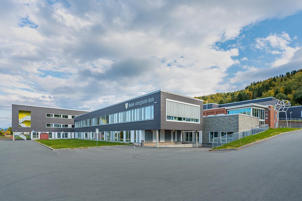 Malvik videregående skole ligger på Vikhammer i Trøndelag.