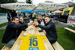 Bravo bar after the football match between NK Domzale and NK Aluminij in 36th Round of Prva liga Telekom Slovenije 2020/21, on May 22, 2021 in Sportni park Domzale, Slovenia. Photo by Vid Ponikvar / Sportida