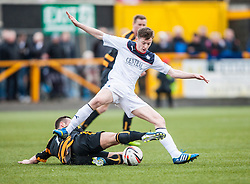 Falkirk's Conor McGrandles.<br /> Alloa Athletic 3 v 0 Falkirk, Scottish Championship game played today at Alloa Athletic's home ground, Recreation Park.<br /> © Michael Schofield.