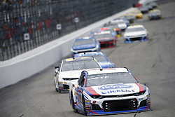 July 22, 2018 - Loudon, New Hampshire, United States of America - AJ Allmendinger (47) battles for position during the Foxwoods Resort Casino 301 at New Hampshire Motor Speedway in Loudon, New Hampshire. (Credit Image: © Justin R. Noe Asp Inc/ASP via ZUMA Wire)