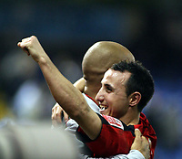 Photo: Mark Stephenson/Sportsbeat Images.<br /> West Bromwich Albion v Coventry City. Coca Cola Championship. 04/12/2007.Michael Mifsud celebrates there win after the game