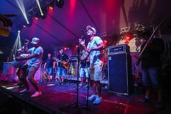 Feijoada com Samba se apresenta no Palco Complex durante a 22ª edição do Planeta Atlântida. O maior festival de música do Sul do Brasil ocorre nos dias 3 e 4 de fevereiro, na SABA, na praia de Atlântida, no Litoral Norte gaúcho.  Foto: André Feltes / Agência Preview