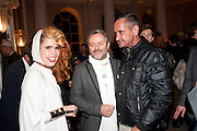 PALOMA FAITH; NELLEE HOOPER, Dazed & Confused 20th Anniversary Exhibition. Somerset House. London. 3 November 2011<br /> <br />  , -DO NOT ARCHIVE-© Copyright Photograph by Dafydd Jones. 248 Clapham Rd. London SW9 0PZ. Tel 0207 820 0771. www.dafjones.com.