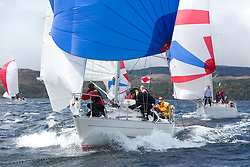 Day one of the Silvers Marine Scottish Series 2015, the largest sailing event in Scotland organised by the  Clyde Cruising Club<br /> Racing on Loch Fyne from 22rd-24th May 2015<br /> <br /> IRL16010, Busy Beaver, J Gallacher / M Bradshaw, Cove SC<br /> <br /> <br /> Credit : Marc Turner / CCC<br /> For further information contact<br /> Iain Hurrel<br /> Mobile : 07766 116451<br /> Email : info@marine.blast.com<br /> <br /> For a full list of Silvers Marine Scottish Series sponsors visit http://www.clyde.org/scottish-series/sponsors/
