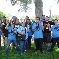UNM-Gallup TRIO students attending the Martin Luther King Jr. Youth Leadership Conference in Albuquerque June 7-9 at TRIO Lobo Academy.