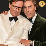 NLD/Amsterdam/20191009 - Uitreiking Gouden Televizier Ring Gala 2019, Frank Jansen en Rogier Smit