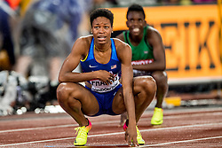 09-08-2017 IAAF World Championships Athletics day 6, London<br /> Phyllis Francis USA wins the gold medal 400 m