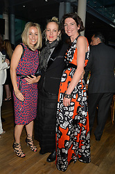 Left to right, FANNY MOIZANT, BAY GARNETT and THOMASINA MIERS at The Women for Women International & De Beers Summer Evening held at The Royal Opera House, Covent Garden, London on 23rd June 2014.