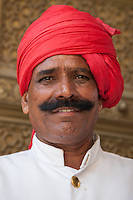 Indian Handlebar Mustache - Indian men are famous for their moustaches, and nowhere else in India is this cultivated more than in Rajasthan, where it is almost raised to an art form.
