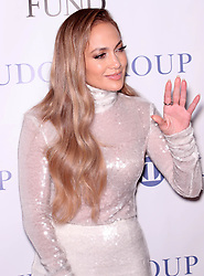 September 24, 2018 - New York City, New York, USA - 9/24/18.Jennifer Lopez at the 33rd Annual Great Sports Legends Dinner To Benefit The Buniconti Fund to Cure Paralysis in New York City. (Credit Image: © Starmax/Newscom via ZUMA Press)