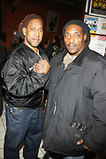 l to r:  Kool DJ Herc and DJ Just Ice at ' Bring out the Sound System: The West Indian Roots of HipHop held at The Point on February 28, 2009 in the Bronx, NY..It is a known fact that the trinity of Hip Hop DJ pioneers have roots in the West Indies including DJ Kool Herc, Afrika Bambaataa, and Grandmaster Flash. Other early artists who made significant contributions to the music include Kool DJ Red Alert, KRS-One, Doug E. Fresh, among others.   ..Post World War II Bronx had a growing community of West Indian immigrants, particularly after the U.S. Immigration Act of 1965.  Recreation rooms at 1520 Sedgwick where Kool Herc deejayed and Bronx River Houses where Afrika Bambaataa held court as well as many local parks and early venues like the Black Door, where Grandmaster Flash rocked, mark the cradle of Hip Hop.