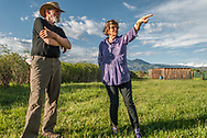 Conservation Easement Landowners: John and Rebecca HallContinuing a Legacy of Land Conservation One of the more foolish things a community can do is build on its farmland. This is especially true in arid regions where arable land is at a premium. In 1994 Dr. William Droke saw such foolishness creeping into the agricultural lands of the Taos Valley and placed a conservation easement on about 18 acres of irrigated farmland on both sides of the Rio Fernando, smack in the heart of the valley.<br /> <br /> Traditionally hay and pasture, the Droke Property is irrigated from two historic acequias, the PachecoCommunity Ditch and the Acequia Jose Venito Martinez – with the Rio Fernando serving as an artery, pulsing the lifeblood of water into the land as well as hosting a wide diversity of wildlife.