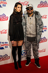 © Licensed to London News Pictures. 03/12/2016. DUA LIPA and SEAN PAUL attends Capital's Jingle Bell Ball with Coca-Cola at London's O2 Arena London, UK. Photo credit: Ray Tang/LNP