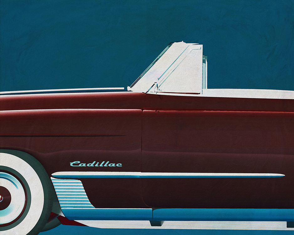 If you want to give your interior an extra stylish detail, this painting by a Cadillac Deville from 1948 is perfect. –<br /> <br /> <br /> BUY THIS PRINT AT<br /> <br /> FINE ART AMERICA<br /> ENGLISH<br /> https://janke.pixels.com/featured/cadillac-deville-1948-jan-keteleer.html<br /> <br /> WADM / OH MY PRINTS<br /> DUTCH / FRENCH / GERMAN<br /> https://www.werkaandemuur.nl/nl/shopwerk/Cadillac-Deville-1948/528760/132