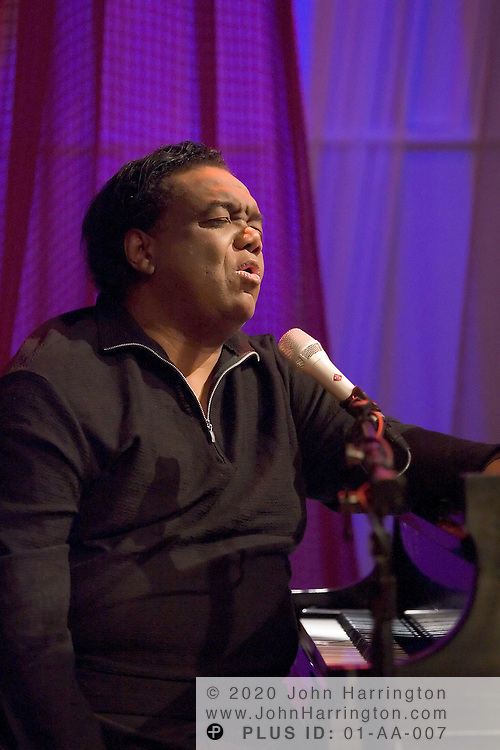 Lamont Dozier, best known as a member of Holland-Dozier-Holland, the songwriting and production team that was responsible for much of the Motown sound, is on stage at XM for an Artist Confidential on Monday October 4, 2004