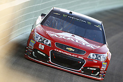 November 19, 2017 - Homestead, Florida, United States of America - November 19, 2017 - Homestead, Florida, USA: Dale Earnhardt Jr. (88) brings his car through the turns during the Ford EcoBoost 400 at Homestead-Miami Speedway in Homestead, Florida. (Credit Image: © Chris Owens Asp Inc/ASP via ZUMA Wire)