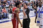 DESCRIZIONE : Campionato 2014/15 Dinamo Banco di Sardegna Sassari - Openjobmetis Varese<br /> GIOCATORE : Stanley Okoye Maurizio Biggi<br /> CATEGORIA : Fair Play<br /> SQUADRA : Openjobmetis Varese<br /> EVENTO : LegaBasket Serie A Beko 2014/2015<br /> GARA : Dinamo Banco di Sardegna Sassari - Openjobmetis Varese<br /> DATA : 19/04/2015<br /> SPORT : Pallacanestro <br /> AUTORE : Agenzia Ciamillo-Castoria/L.Canu<br /> Predefinita :