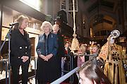 MAUREEN SUTHERLAND SMITH; SIR NICHOLAS GRIMSHAW; THE DUCHESS OF CORNWALL, Duchess Of Cornwall Turns On The Christmas Lights At Burlington Arcade. Piccadilly. LONDON, 19 November 2009