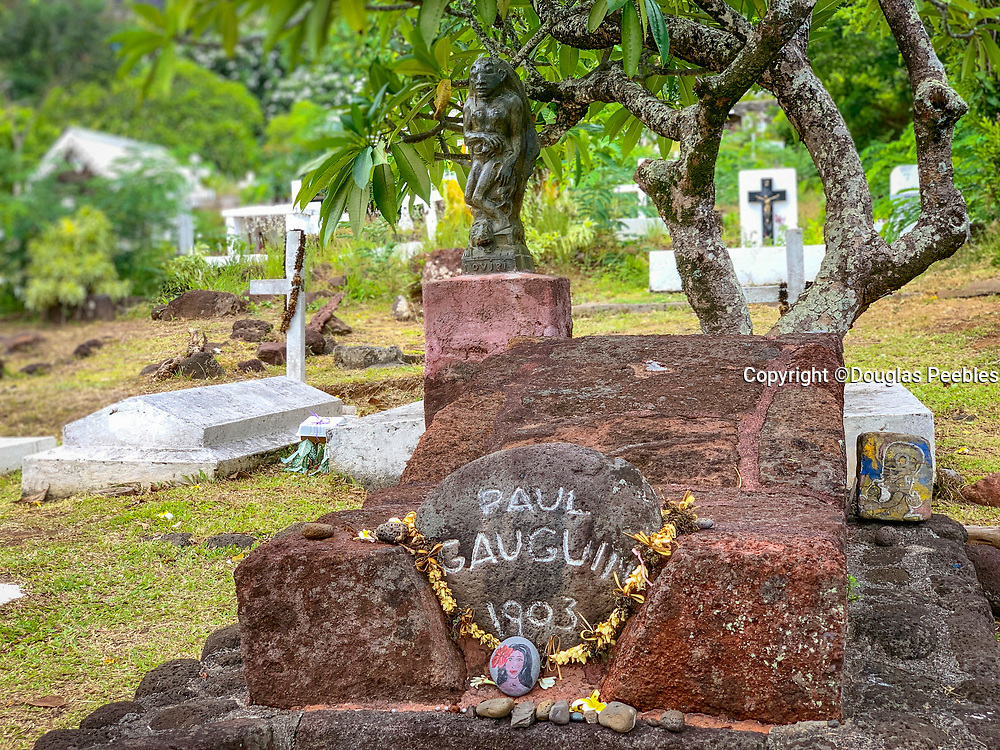 Paul Gauguin Gravesite, Atuona, Hiva Oa, Marquesas, French Polynesia, South Pacific