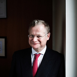 Vincent Strauss,  Directeur General et Gerant de Comgest. Paris, France. 11 February 2010. Photo : Antoine Doyen