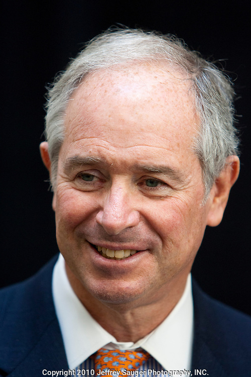 Stephen A. Schwarzman, Chairman and CEO of The Blackstone Group, at the Undergraduate Library at Wayne State University in Detroit, MI, Friday, April 30, 2010. ..The Blackstone Charitable Foundation in collaboration with the New Economy Initiative for Southeast Michigan announced that Wayne State University, Walsh College, and the University of Miami have been selected as partners for The Blackstone Charitable Foundation's grant to help expand The Launch Pad program to two Michigan partners – Walsh College and Wayne State University. (Jeffrey Sauger)