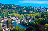 Aare River, Bern, Canton Bern, Switzerland