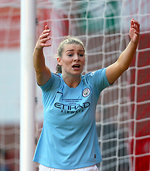 Manchester City's Gemma Bonner reacts during the FA Women's Continental League Cup final at Bramall Lane, Sheffield.