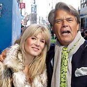 NLD/Amsterdam/20120219 - Premiere Sprookjesboom de Film, Emile Ratelband en partner Moon van Buuren