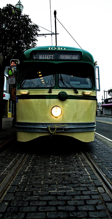 PCC 1040, Municipal Railway, San Francisco