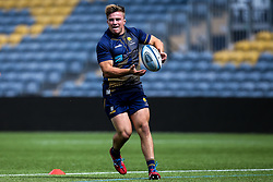Isaac Miller of Worcester Warriors during training ahead of the Gallagher Premiership fixture against Harlequins - Mandatory by-line: Robbie Stephenson/JMP - 24/08/2020 - RUGBY - Sixways Stadium - Worcester, England - Worcester Warriors Training