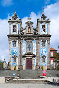 Church of Saint Ildefonso in Porto, Portugal