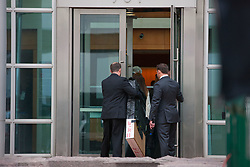 August 8, 2017 - Denver, Colorado, U.S - People enter the courthouse at the Taylor Swift Groping Trial against radio DJ David Mueller at the Alfred A. Arraj United States Courthouse in Denver, Colorado, U.S., on Tuesday, August 8, 2017. (Credit Image: © Matthew Staver via ZUMA Wire)