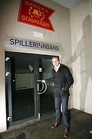 Fotball TIPPELIGA<br />Pressekonferanse Viking Stadion 02/02-07<br />Thomas Myhre ble i dag presentert som ny Viking spiller<br /><br />Foto: Sigbjørn Andreas Hofsmo<br /><br />Thomas Myre