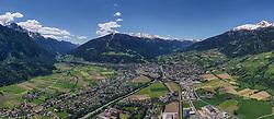THEMENBILD – Panoramaansicht Stadtgebiet Lienz. Nussdorf Debant, Österreich am Freitag, 24. Mai 2019 // Panoramic view city area Lienz. Nussdorf Debant on Friday, May 24, 2019. Austria. EXPA Pictures © 2019, PhotoCredit: EXPA/ Johann Groder
