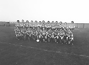 The Garda team before the Guinness v Garda Gaelic Football Club Tournament Final on the 14th October 1979.