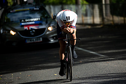 DOWSETT Alex of Great Britain competes during Men Time Trial at UCI Road World Championship 2020, on September 24, 2020 in Imola, Italy. Photo by Vid Ponikvar / Sportida