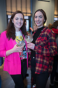 NO FEE PICTURES<br /> 12/4/18 Michelle Hanley and Stacy Nevin,  Mayo at the launch of Jenny Huston and Leah Hewson's jewellery and fine art collaboration, Edge Only x Leah Hewson at The Dean Dublin. Arthur Carron