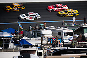 September 28-30, 2018. Charlotte Motorspeedway, Xfinity Series, Drive for the Cure 200: Chase Briscoe, Biagi-DenBeste Racing, Ford, Daniel Hemric, Richard Childress Racing, Chevrolet, Justin Marks, Chip Ganassi Racing, Chevrolet, Matt Tifft, Richard Childress Racing, Chevrolet