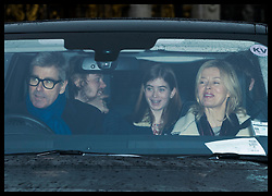 December 20, 2017 - London, London, United Kingdom - Image licensed to i-Images Picture Agency. 20/12/2017. London, United Kingdom. Timothy Taylor and Lady Helen Taylor arriving for The Queen's Christmas lunch at Buckingham Palace in London. (Credit Image: © Stephen Lock/i-Images via ZUMA Press)