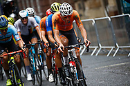 Men Road Race 230,4 km, Mathieu Van der Poel (Netherlands), during the Cycling European Championships Glasgow 2018, in Glasgow City Centre and metropolitan areas, Great Britain, Day 11, on August 12, 2018 - Photo Luca Bettini / BettiniPhoto / ProSportsImages / DPPI - Belgium out, Spain out, Italy out, Netherlands out -