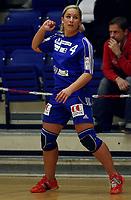 Håndball , 1. divisjon damer , 11.februar 2007 , Tranberghallen ,<br /> Gjøvik og Vardal  v  Skrim  (26-18)<br /> <br /> Foto:Dagfinn Limoseth<br /> <br /> Britt Goodwin , Gjøvik og Vardal