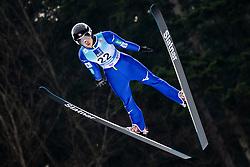 Nozomi Maruyama of Japan soaring through the air during Trial Round at Day 1 of World Cup Ski Jumping Ladies Ljubno 2019, on February 8, 2019 in Ljubno ob Savinji, Slovenia. Photo by Matic Ritonja / Sportida